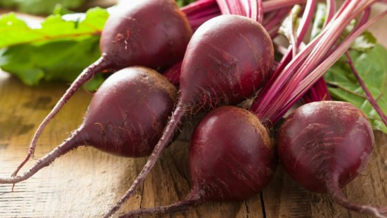 beetroot for energy and fighting fatigue